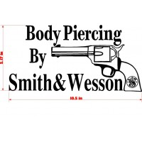 BODY PIERCING SMITH AND WESSON