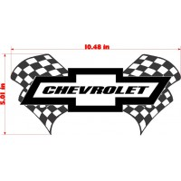 RACING FLAGS CHEVY