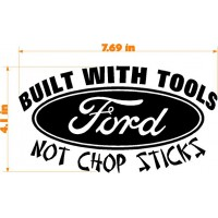 BUILT WITH TOOLS FORD