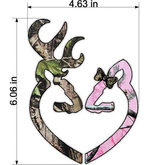 Browning Heart Decal images