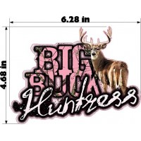 BIG BUCK HUNTRESS
