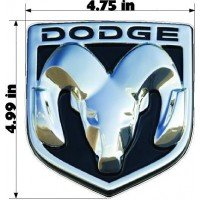 DODGE EMBLEM DECAL